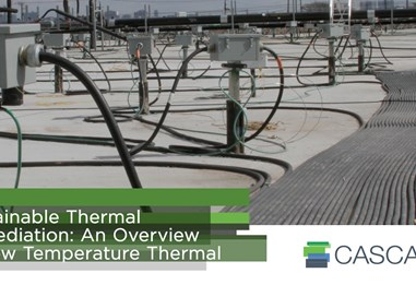 Sustainable Thermal Remediation: An Overview of Low Temperature Thermal